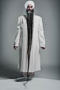 Самые длинные бороды в мире
