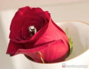 Как оригинально подарить кольцо девушке: самые лучшие идеи