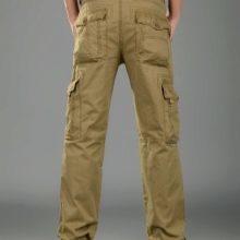 Мужские брюки карго: утепляемся на зиму