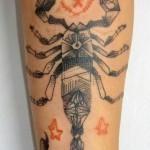 Тату знак зодиака скорпион для мужчин: лучшие эскизы