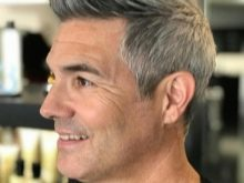 Мелирование мужских волос: все о процедуре