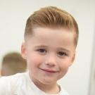 Полубокс: стрижка для мальчика