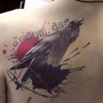 Тату ворон: значение и символика для мужчин