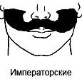 Тонкие усы: виды и фото
