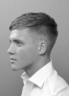 Стрижка мужская полубокс: фото и типы исполнения