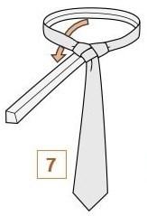 Как завязать галстук узлом тринити?